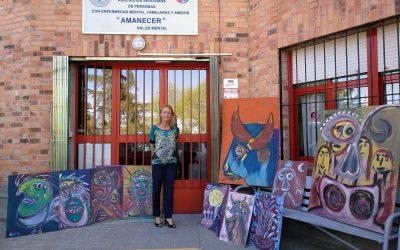 La asociación Amanecer recibe en herencia 30 obras de arte