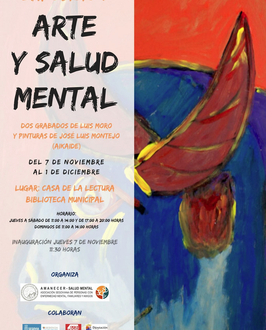 Inauguración de la exposición 'Arte y Salud Mental' en la Casa de la Lectura – Biblioteca Municipal Segovia